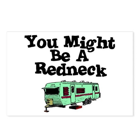 You might be a redneck Postcards (Package of 8)
