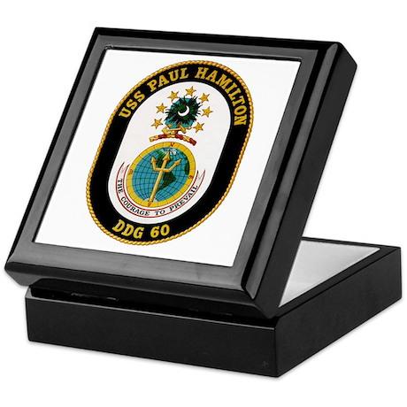 USS Paul Hamilton Keepsake Box