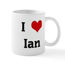 I Love Ian Mug