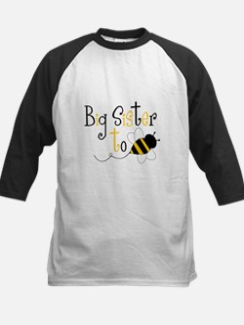 Big Sister to Bee Kids Baseball Jersey