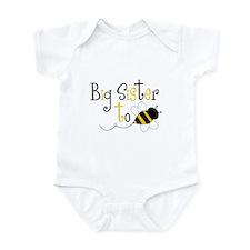 Big Sister to Bee Infant Bodysuit