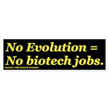 Biotech Jobs/B Bumper Bumper Sticker