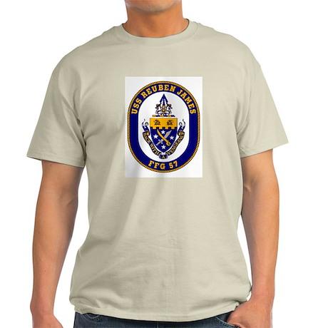 USS Reuben James Light T-Shirt