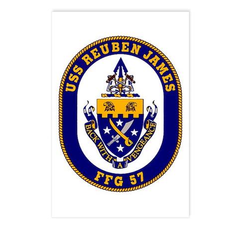 USS Reuben James Postcards (Package of 8)