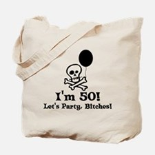 50th Birthday Party Tote Bag
