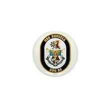 USS Russell Mini Button