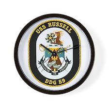 USS Russell Wall Clock