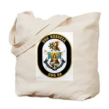 USS Russell Tote Bag