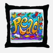 Read Throw Pillow