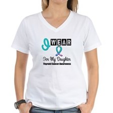 Thyroid Cancer Ribbon Shirt