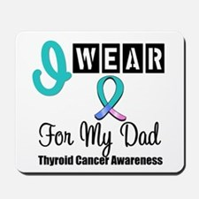 Thyroid Cancer Ribbon Mousepad