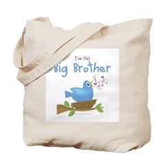 Songbird Big Brother Tote Bag