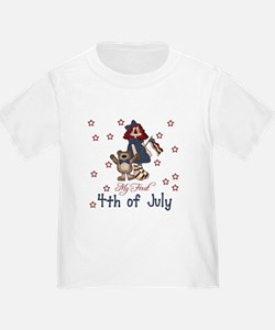 My First 4th of July Baby T