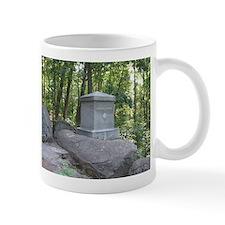 20th Maine on Little Round Top Mug