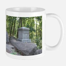 20th Maine on Little Round Top Mug