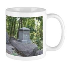 20th Maine on Little Round Top Small Mug