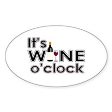 It's Wine O'Clock Decal