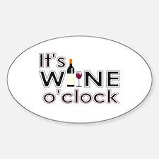 It's Wine O'Clock Decal