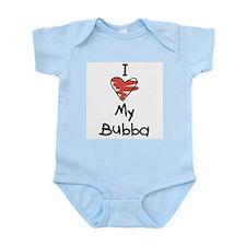 I Love My Bubba Infant Creeper