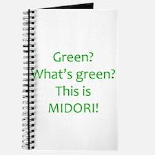Cute Midori Journal