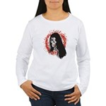 Ring of Death Skull Women's Long Sleeve T-Shirt