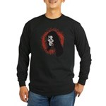 Ring of Death Skull Long Sleeve Dark T-Shirt