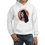 Ring of Death Skull Hooded Sweatshirt