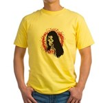 Ring of Death Skull Yellow T-Shirt