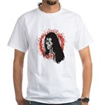 Ring of Death Skull White T-Shirt