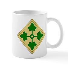 4th Infantry Division (1) Small Small Mug