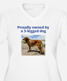 3-Legged Dog T-Shirt