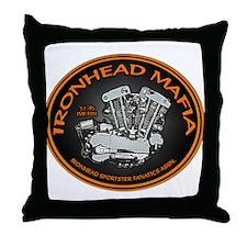 IronHead Mafia Throw Pillow