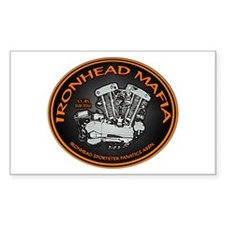 IronHead Mafia Rectangle Decal