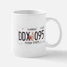 Hawaii License (2 color) Mug