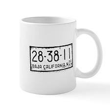 Baja License Mug