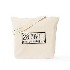 Baja License Tote Bag