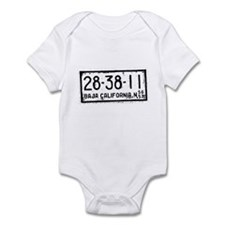 Baja License Infant Bodysuit