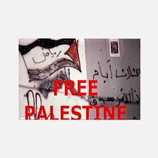 Free Palestine Rectangle Magnet