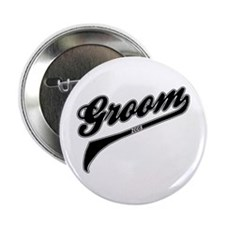 """Sporty Groom 2008 2.25"""" Button"""