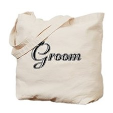 Groom with Jaunty Top Hat Tote Bag