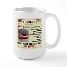 born in 1983 birthday gift Mug