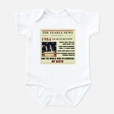 born in 1984 birthday gift Infant Bodysuit
