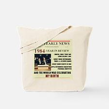 born in 1984 birthday gift Tote Bag