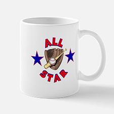 Baseball All Star Small Small Mug