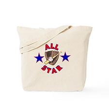 Baseball All Star Tote Bag
