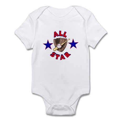 Baseball All Star Infant Bodysuit