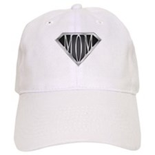 Supermom(metal) Baseball Cap