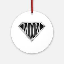 Supermom(metal) Ornament (Round)