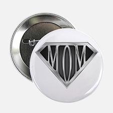 "Supermom(metal) 2.25"" Button"