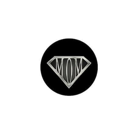 Supermom(metal) Mini Button (100 pack)